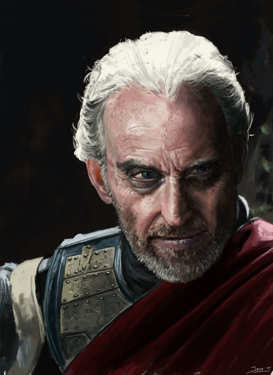 """tywin lannister portrait"" | rob jenkins"