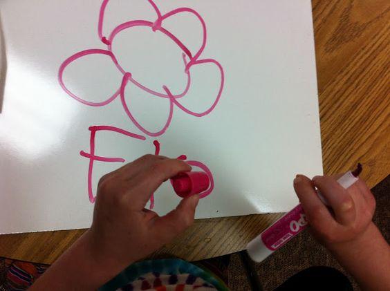 Fairy Dust Teaching Kindergarten Blog: DIY White Boards - so CHEAP!