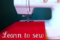 Learning to sew. Beginners. 101.