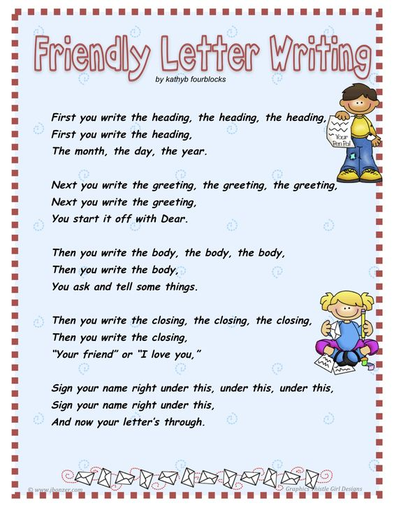 Kids friendly letter children simply follow the example for Children s books about writing letters
