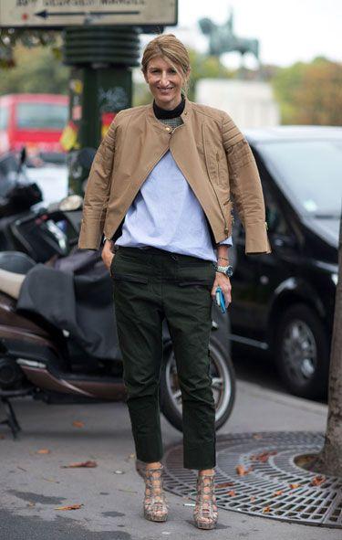 Paris Street Style Spring 2014 Sarah Ruston: