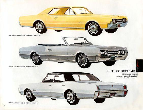 65 oldsmobile cutlass holiday brochure