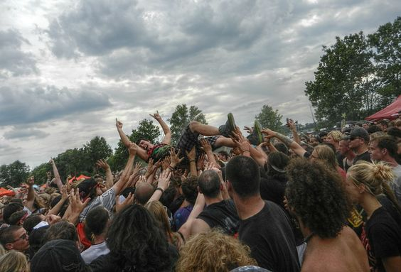 Crowd Surfing