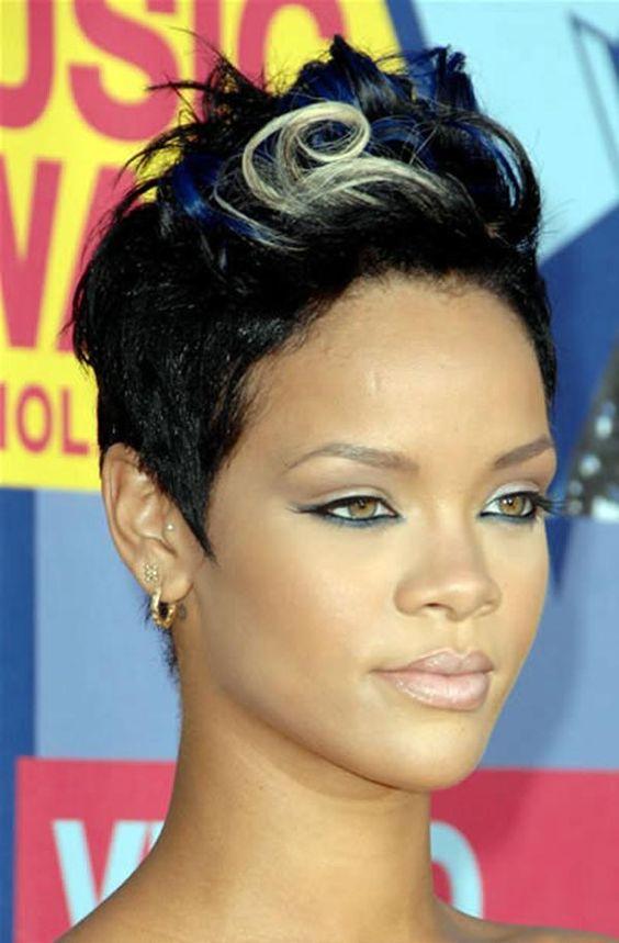 Strange Short Hair Styles The Shorts And Black Women On Pinterest Hairstyles For Women Draintrainus