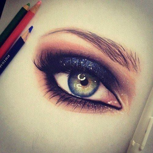It's an eye drawing but so realalistic.