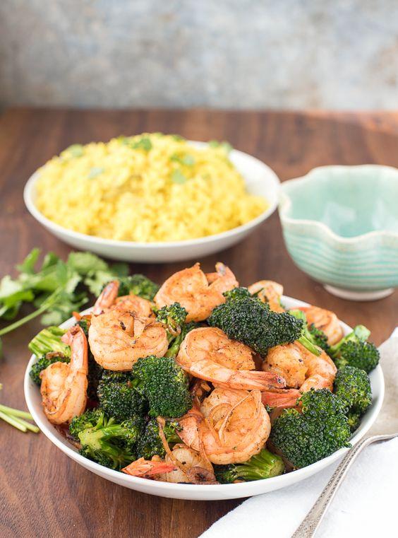 Broccoli stir fry, Shrimp and Shrimp and broccoli on Pinterest