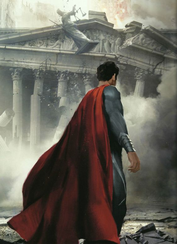 Awesome Collection Of 'Man Of Steel' Concept Art Featuring Henry Cavill's Superman