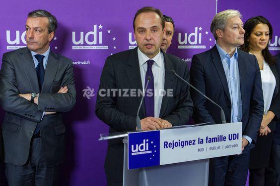Paris : Jean-Christophe Lagarde présente ses voeux à la presse - Politique - via Citizenside France. Copyright : Christophe BONNET - Agence73Bis