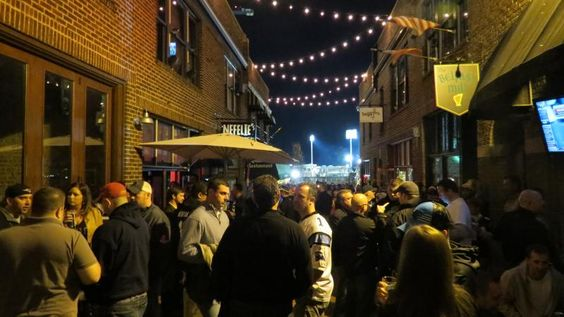 Courtyard Hooligans and The Upper Deck
