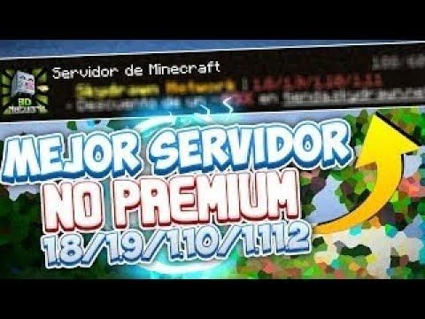 Servidor De Minecraft No Premium Survival Skywars Skyblock 1 8 1 9 1 10 1 11 1 12 Gum Minecraft Server
