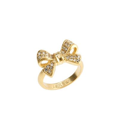 Bow Ring by jcrew #Dainty_Rings #Ring #Bow_Ring