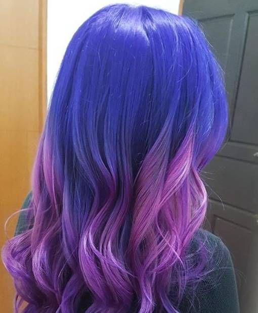 صبغة اومبري الوان صبغة 2019 عمل الصبغة في المنزل صبغة اومبري بنفسجي Ombre Hair Color Hair Color 2019 قصات شعر قص Long Hair Styles Ombre Hair Hair Styles