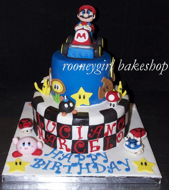 Mario Kart Cake by RooneyGirl Bake Shop: