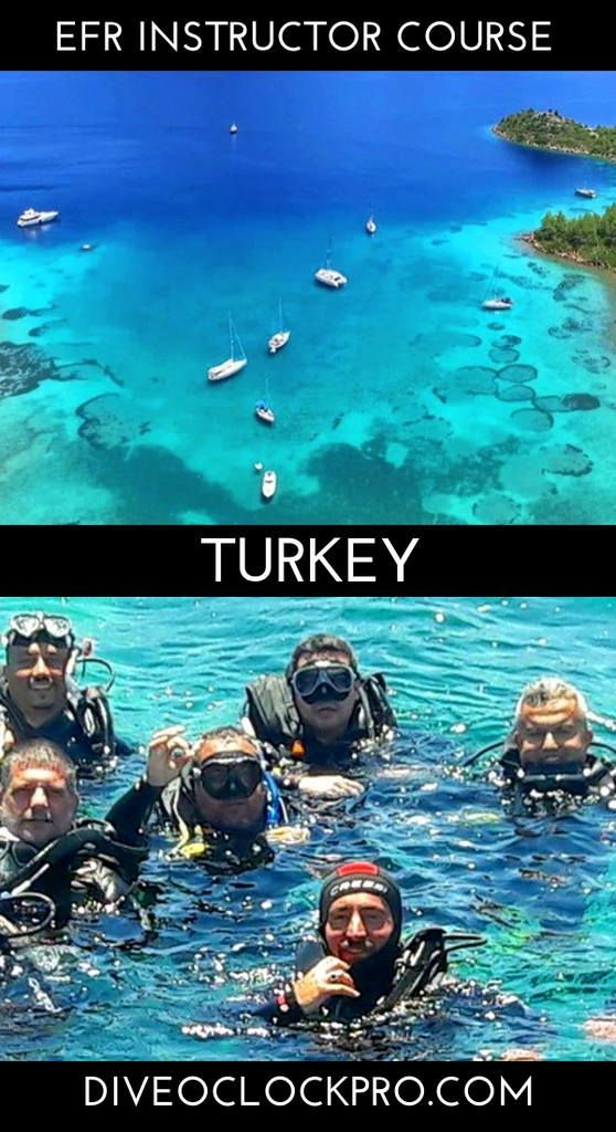 Efr Emergency First Response Dive Instructor Course Bodrum Turkey Click For Details Padi Dive Instructor Course P Scuba Travel Mexico Vacation