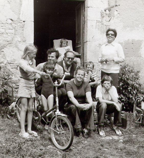 Met de familie Bout in Frankrijk