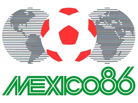 Logo del Mundial de México 1986.