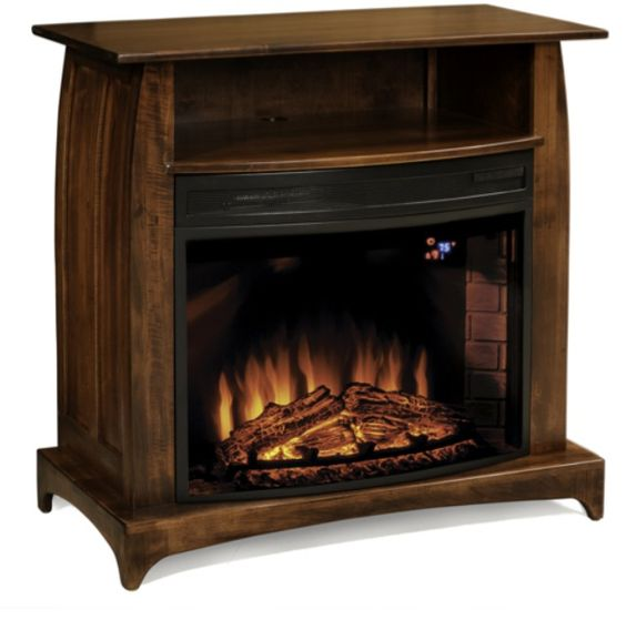 Amish Made Fireplace Free Curbside Delivery To Lower 48 States When You Spend 850 Or More