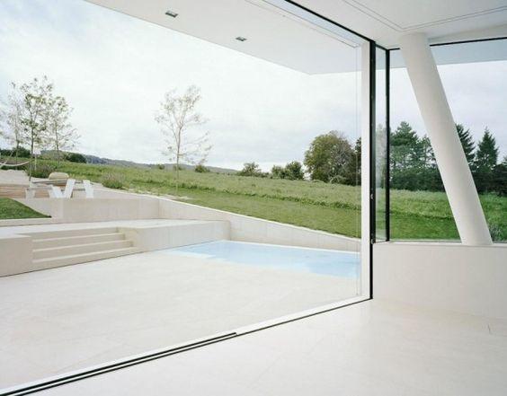 Une villa futuriste à Vienne