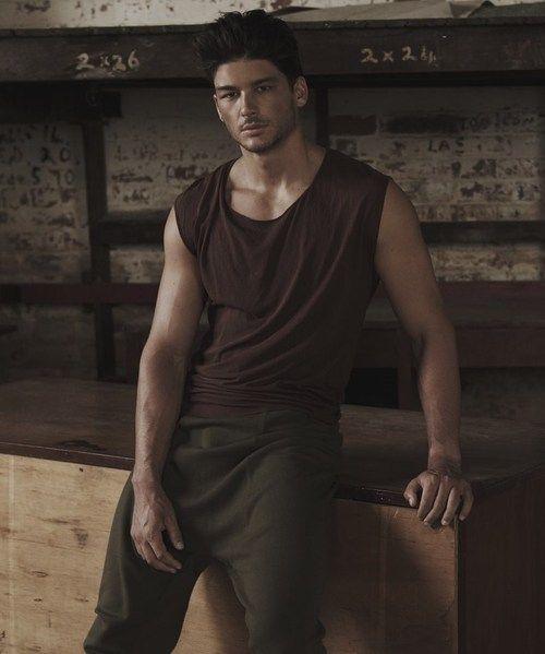 Australian model Emmett Pugh