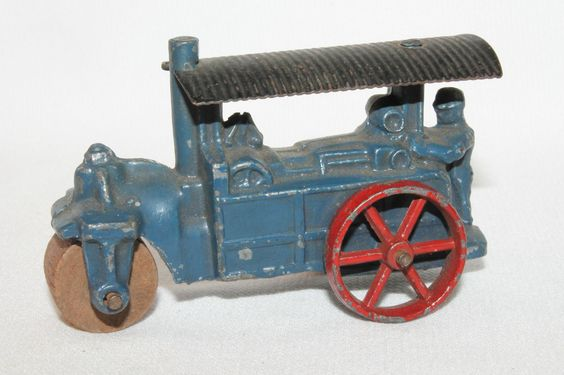 1930's Barclay Steam Road Roller Nice Original 3 1/4 in