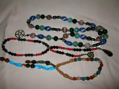 DIY Pagan Prayer Beads Tutorial