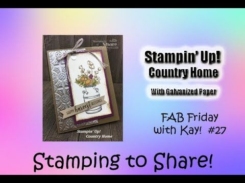 This Was My Fab Friday Fb Live Card I Love How It Turned Out I Also Used It For My September Demo Meeting Swap And I Will Be Usin Fall Cards