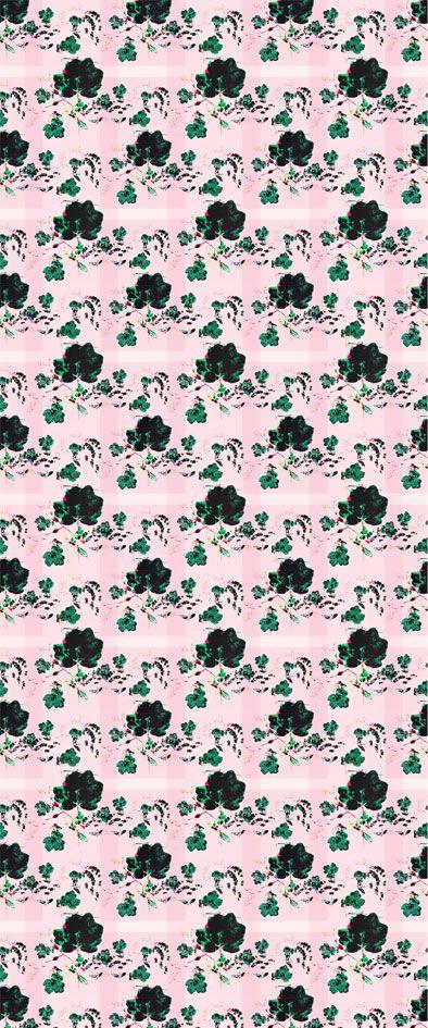 Japonica, vegetal pattern // design 23janvier
