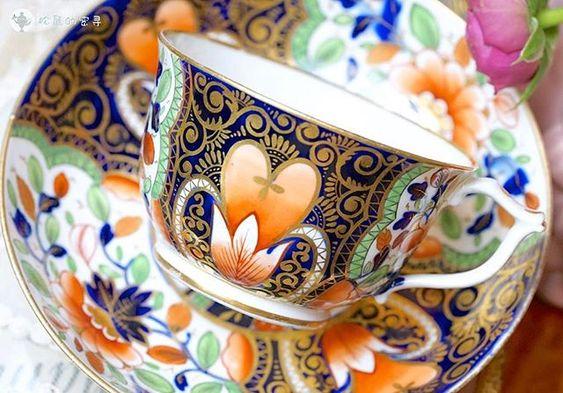 #royalcrownderby #imari #vintage #teacups