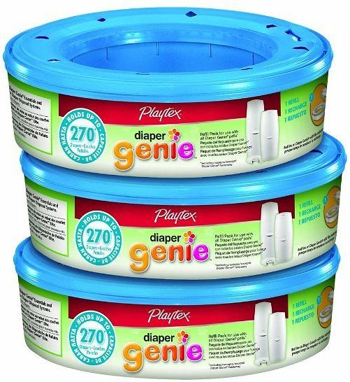 270-Count Playtex Diaper Genie Refill (3-Pack): Amazon is offering this Playtex Diaper Genie Refills for Diaper Genie… #coupons #discounts