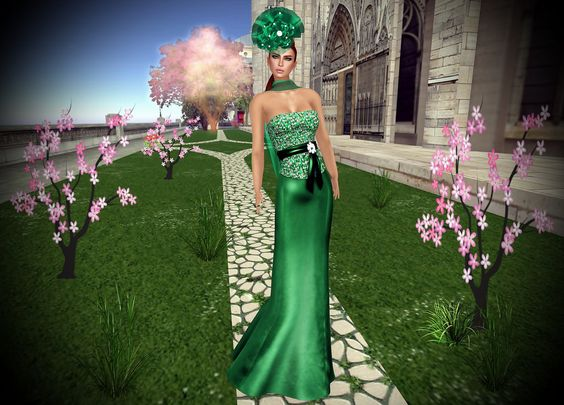 Lamu Fashion Gown Giorgia Emerald  Lamu Fashion Exclusive Item fot The alchemy Event! START 5 JUNE END 25 JUNE! will be discounted by -50% only for the event!! Colors: Black-Bronze-Emerald-Purple-Red EVENT LM: maps.secondlife.com/secondlife/Thentis/64/144/2109 MAINSTORE:http://maps.secondlife.com/secondlife/Thentis/64/144/2109 MARKETPLACE: marketplace.secondlife.com/stores/158464 Blog-http://pink-volvoreta.blogspot.com.es/