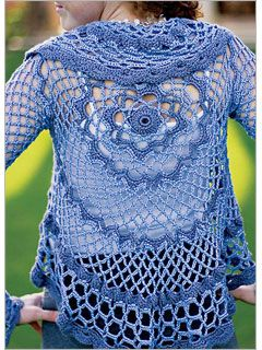 Lacy cocoon sweater. This isn't denim as per say but it sure is cute ~!~
