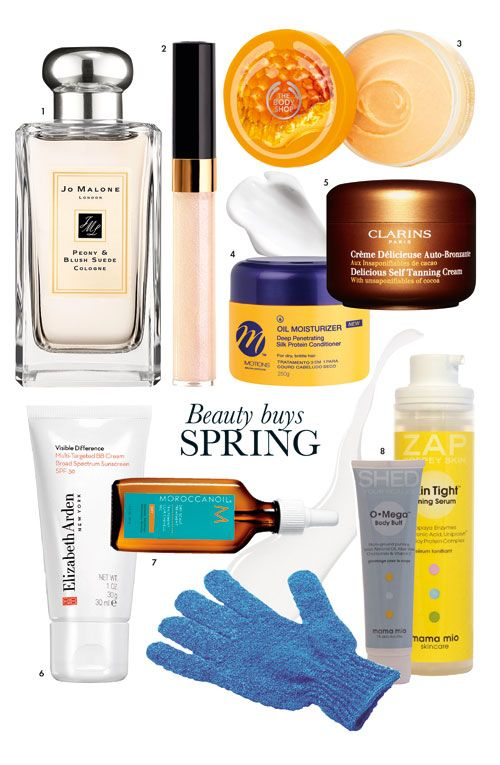 8 SPRING BEAUTY BUYS