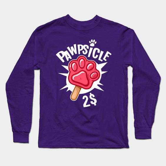 Pawpsicle Long Sleeve T-Shirt