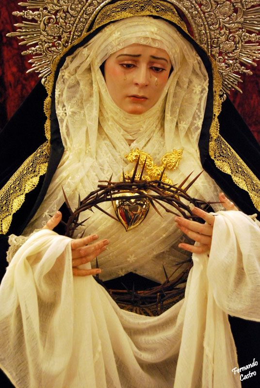 Mother Mary, Our Lady of Sorrows, please help our poor hurting world