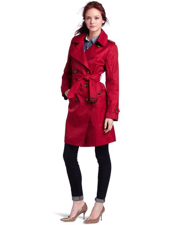 Amazon.com: London Fog Women&39s Petite Classic Trench Coat