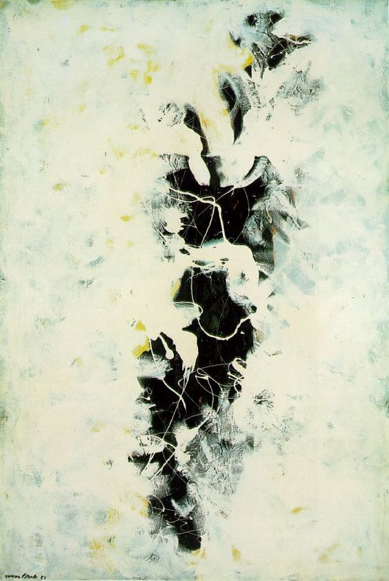 The Deep by Paul Jackson Pollock: