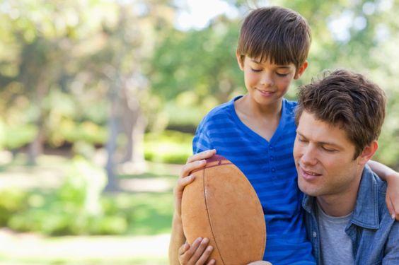 http://michaelfoust.com/2014/06/08/5-reasons-why-fatherhood-is-far-better-than-football/   Fathers Day Fatherhood Football