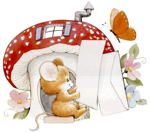 Printable - Mouse - Ruth Morehead: