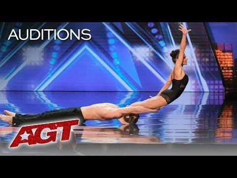 Agt S Sexiest Audition Acrobatic Dance Duo Excites The Agt