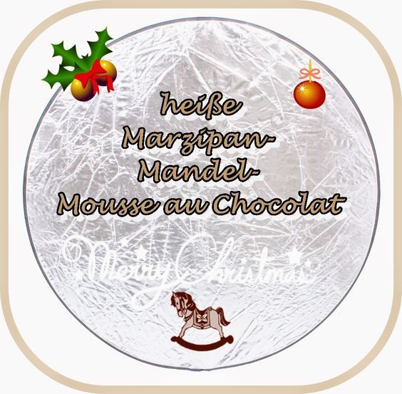 Marzipan-Mandel-Mousse au Chocolat Trinkschokolade