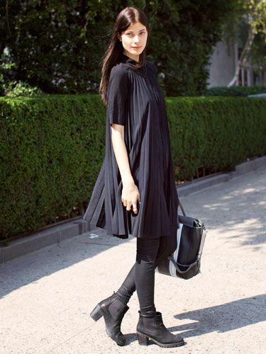 NYFW Model Street Style: Larissa Hoffman