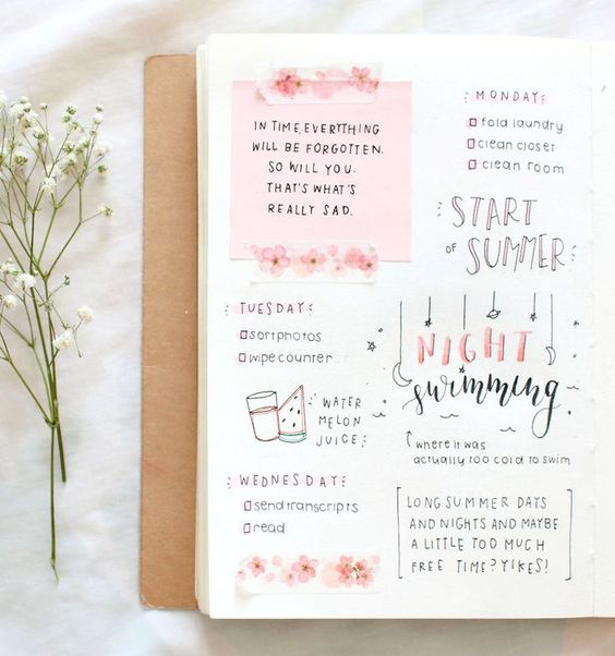 Love this bullet journal spread! I think a summer bucketlist is a great idea :) x