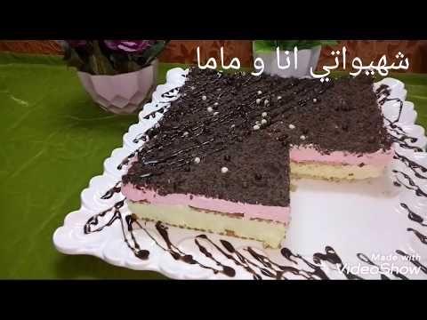 كيكة باردة بالبسكوي بدون فرن في 10 دقائق من إدين م Youtube Food Desserts Brownie