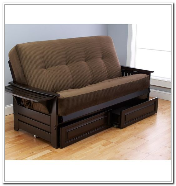 Futons With Storage Drawers