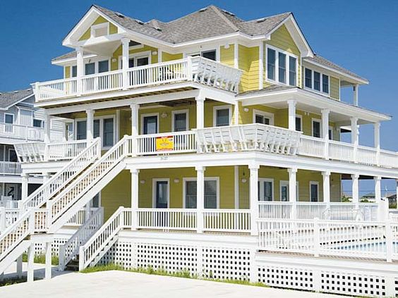 Calypso, 7 bedroom Semi-Sound Front home in Salvo, OBX, NC