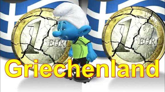 #Griechenland zahlt nicht die IWF-Rate #Zoobe #Schlumpf deutsch - Griechische Schuldenkrise