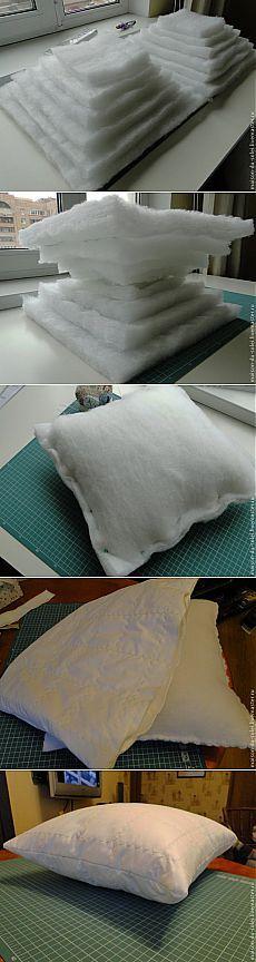 Шьем подушку: