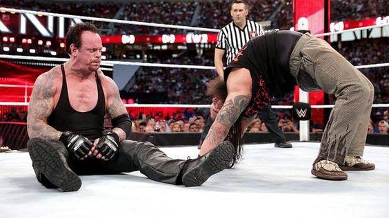 undertaker vs bray wyatt Looking good again!