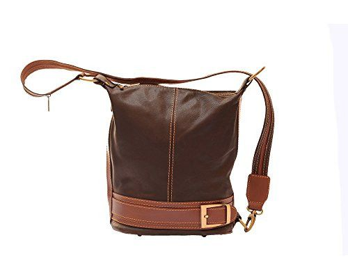 LaGaksta Leather Bucket Backpack Handbag Made in Italy