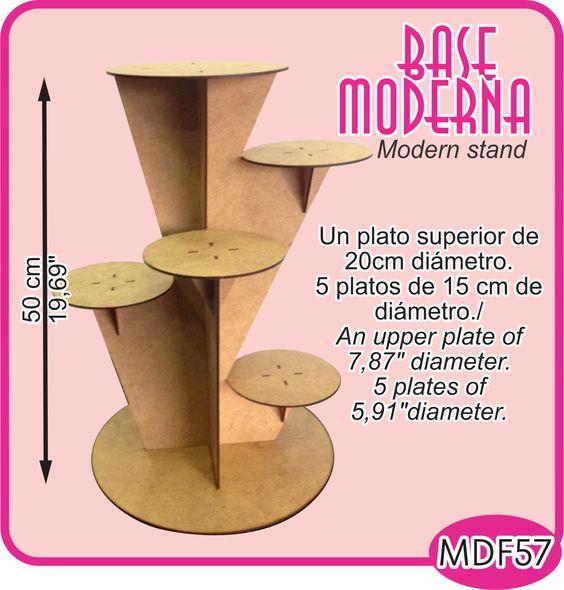 Base asimétrica de 6 niveles para su mesa de dulces./6 leves asymmetric stand for your candy bar or dessert buffet. -Pedidos/Inquiries to: crearcjs@gmail.com
